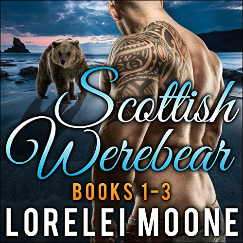 Scottish Werebear, Books 1-3 cover art
