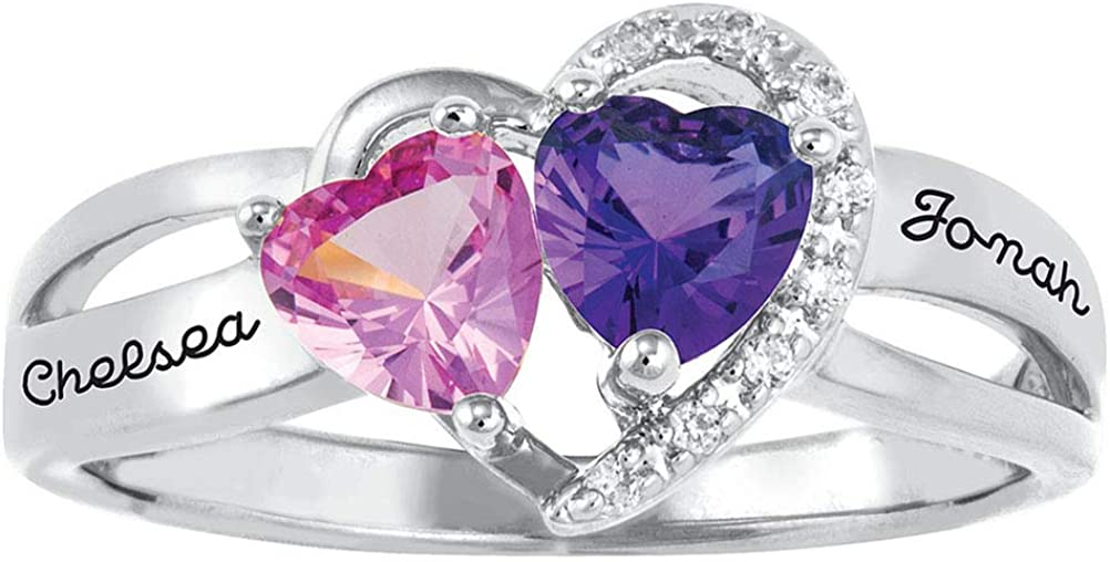 OFFer Personalized Promise Rings Sterling Silver Custom w Mothers Ring Max 41% OFF