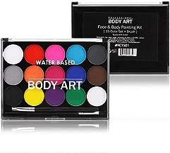 HeepDD Make-up-kwastenset, 15 kleuren, niet giftig...