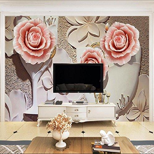 La nouvelle télévision 3D classique canapé-lit mural fleur chinoise moderne-et-bird wallpaper papier peint chinois de nouveaux murs murales 300cm*210cm