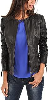 Leather Lovers Women's Lambskin Leather Bomber Biker Jacket