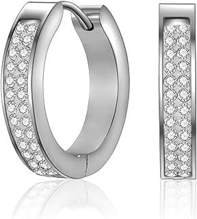Mestige Calla Earrings with Swarovski Crystals