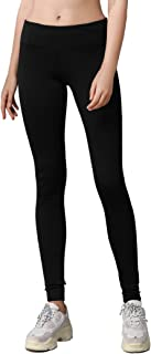 VIGORPACE 25/28/31 Women's Fleece Lined Thermal Tights with Zippered Pocket