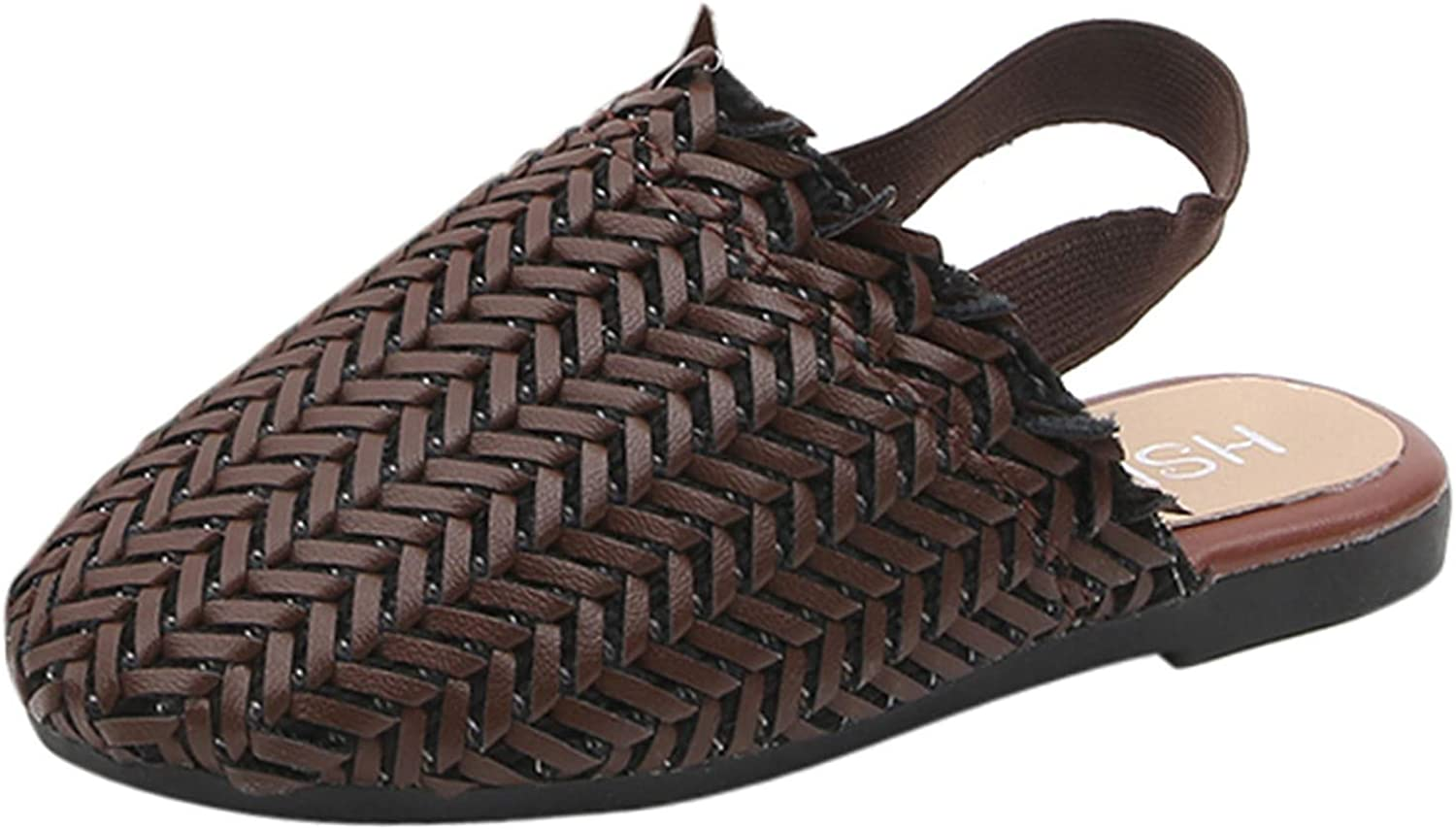 Kid Discount is also underway Girls Sandals Weave Retro Todd Shoes Max 49% OFF Single Princess