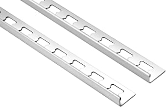 2 Meter  /Fliesenschiene L-Form V2A diverse Gr/ö/ßen  /HEX100 SI Edelstahl