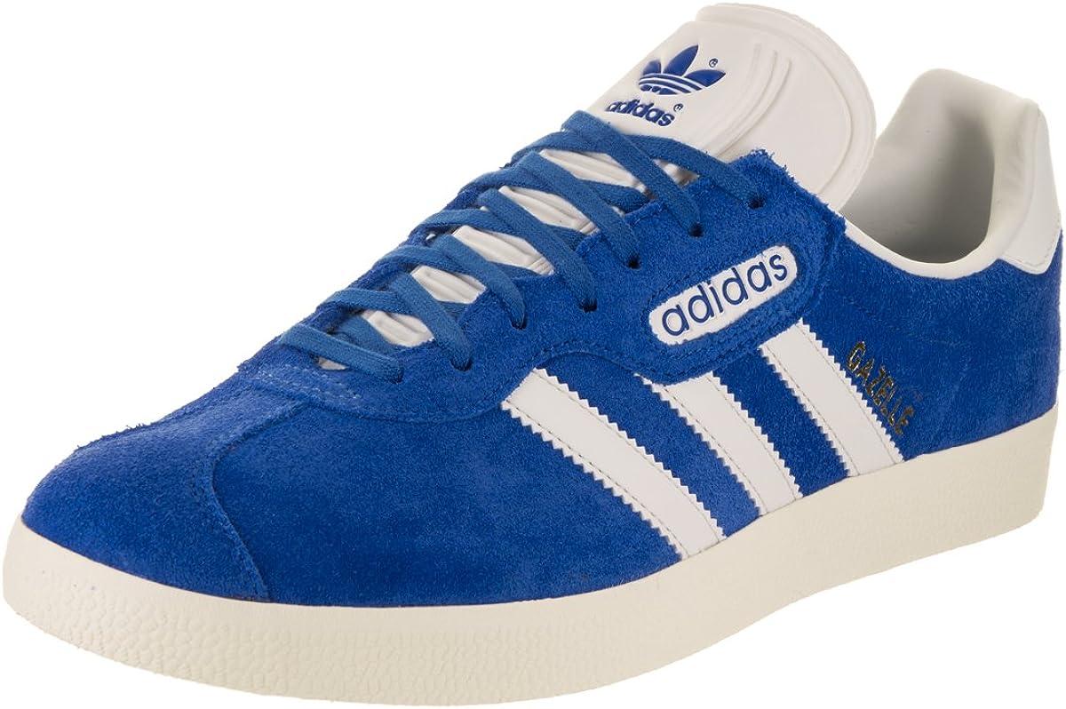Gazelle Super para Hombre en Azul/Vintage y Color Blanco/Oro metálico por Adidas