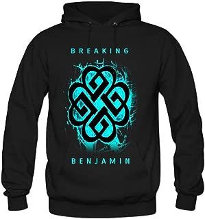 Men's Breaking Benjamin Cotton Fashion Hoodied Sweatshirt