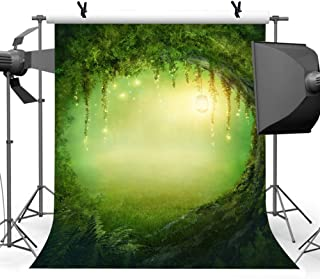 Enchanted Forest Photo Backdrop for Party, 6x9FT, Wonderland Fairyland Mystic Photo Booth Props Fantasy Backdrops for Children Kids Portraits Adventure Scenery Photography Wedding DSLU074