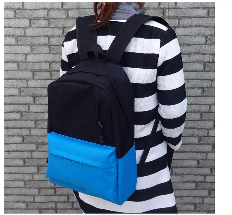 Korean Version of The Tide Men and Women Students Backpack Bag