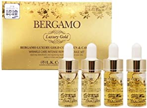 Collagen and Caviar Face Serum, Bergamo 4 pcs / 13ml each, Nutrition for skin, Normal to dry Skin