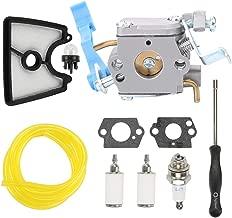 Panari C1Q-W37 545081811 Carburetor with 545112101 Air Filter for Husqvarna 125B 125BVX 125BX Leaf Blower 590460102 Craftsman 358794810 358794811