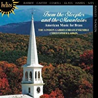 From the Steeples to the Mountains - American Music for Brass by London Gabrieli Brass Ensemble (1999-08-10)