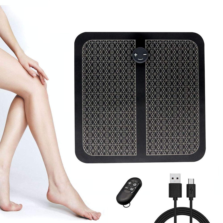 抽象パンツ圧縮されたEMS、USBの充電マッサージャー足、振動フットペディキュアマシン、マッサージパッド、リモート操作は、血液循環を促進、筋肉の痛みを和らげます