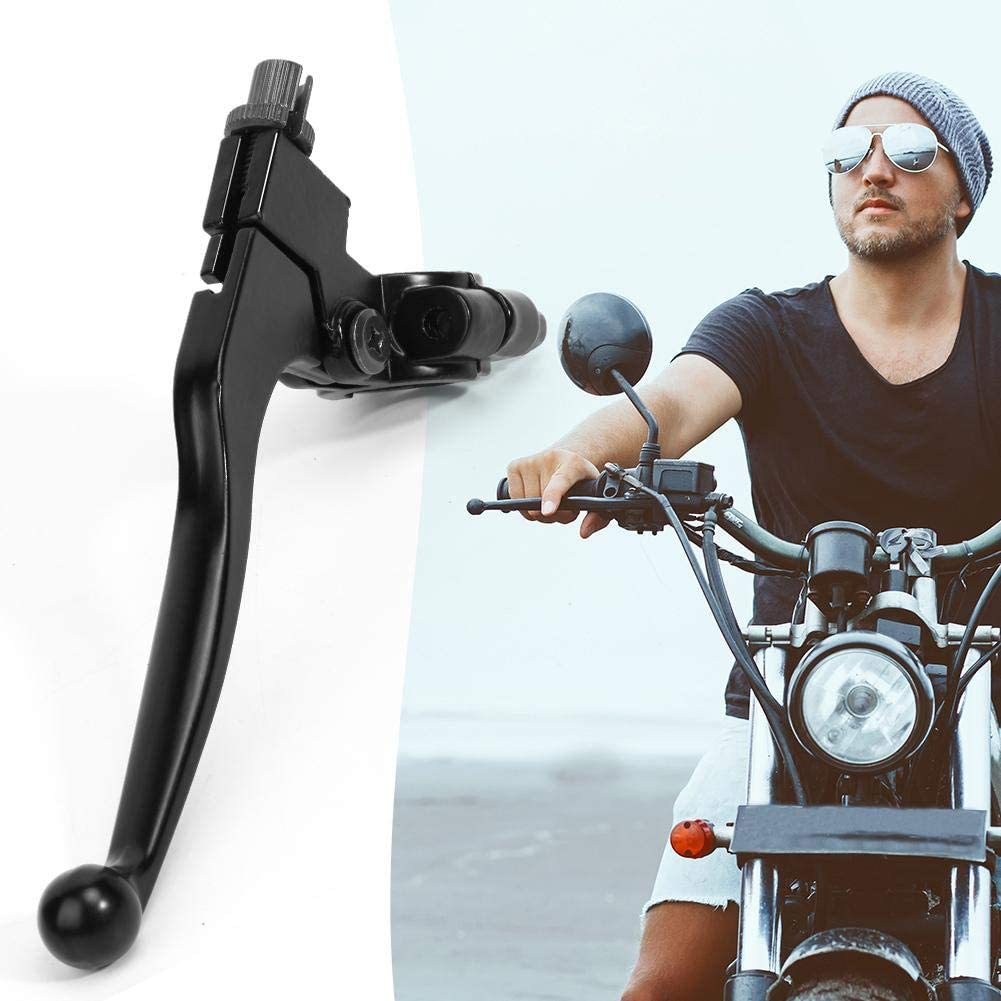 ACAMPTAR Leva Frizione Frizione Manubrio Sinistra 22Mm 7//8 Pollici Alluminio per Pit Dirt Bike Moto ATV Parti Freni Moto Argento