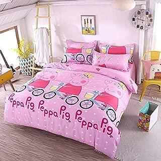 peppa pig queen comforter