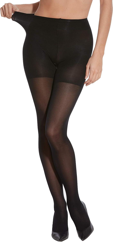 PEDS Women's Comfort Semi-Opaque Tights, 40 Denier, 2 Pairs
