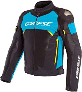 Dainese Dinamica Air D-Dry Jacket (56) (Black/Fire Blue/Fluorescent Yellow)