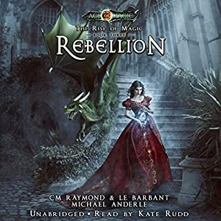 Rebellion audiobook cover art