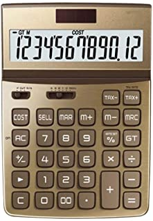 Electronics Study Scientific Calculators Large Screen 12-bit Digital HD Display Protection Eye Solar Button Battery Double...