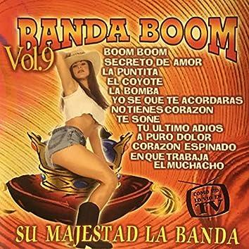 Banda Boom Su Majestad La Banda, Vol. 9