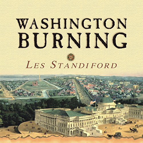 Washington Burning audiobook cover art