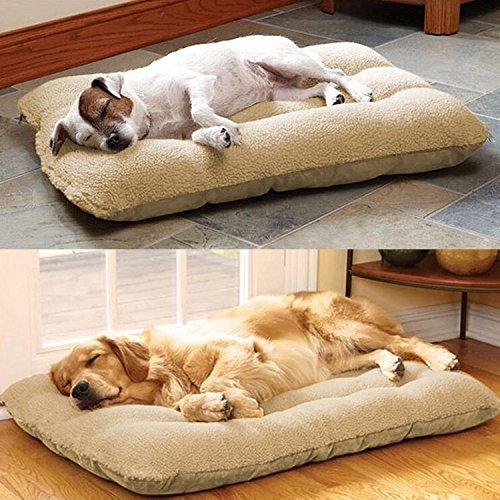 Yaheetech XL Tierbett Hundebett Katzenbett Haustierunterlage Hundesofa Waschbar 100 x 65 cm - 6