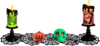 ☀ Dergo ☀ Cup Placemat,Halloween Spider Webs Non-Woven Cloth Cup Placemat Coaster Table Decor
