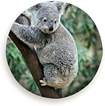 Tire Cover Joey Koala Trying Go Down Tree Animals Wildlife Polyester Universal Spare Wheel Tire Cover Wheel Covers Jeep Trailer Rv Suv Truck Camper Travel Trailer Accessories (14,15,16,17 Inch)