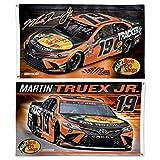 WinCraft NASCAR Joe Gibbs Racing Martin Truex Jr. NASCAR Martin Truex Jr. #19 3' x 5' 2 Sided Flag, Multi, NA, 96347120