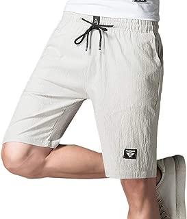 Pantaloncini da Uomo Uomo mezza lunghezza Short In Jersey Di Base Jersey Estate Palestra Casual Corto Nuovo