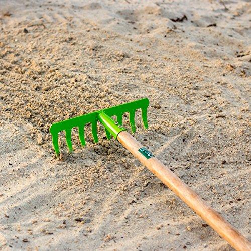 Antikas - rastrillo del jardín para niños - rastrillo de Hierro con...