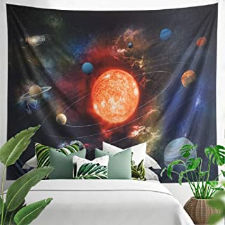 Universe Tapestry Galaxy Tapestry Solar System Planet Wall Tapestry Space Tapestry Wall Hanging for Home Decor