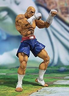 Bandai Tamashii Nations Street Fighter S.H. Figuarts actiefiguur Sagat Tamashii Web Exclusive 17 cm