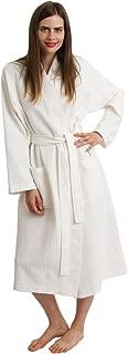 Women's Robe, Kimono Waffle Spa Bathrobe