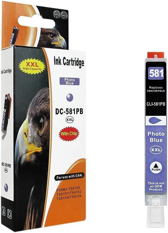 1 Druckerpatrone Kompatibel Zu Pgi 580bk Text Schwarz Für Canon Pixma Tr7550 Tr8550 Ts6150 Ts6151 Ts8150 Ts9150 Ts8251 Ts8151 Ts9155 Ts8152 Ts8250 Bürobedarf Schreibwaren