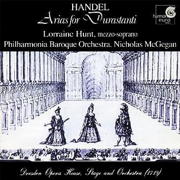 Handel: Arias for Durastanti