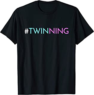 Twinning - Funny Twins Matching Fraternal or Identical T-Shirt