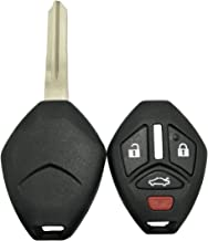 KeylessOption Keyless Entry Remote Key Fob Shell Case Button Replacement Smart for OUC644M
