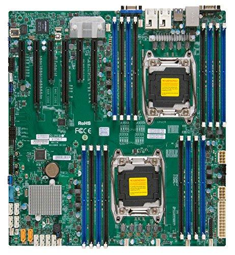 Supermicro X10DRi - Servidor (Servidor, ATX extendida, Intel, Socket R (LGA 2011), E5-2600, DDR4-SDRAM)