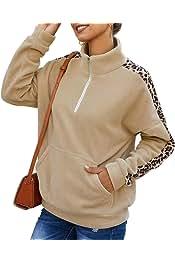 desolateness Womens Long Sleeve Hooded Fleece Sweatshirt Fuzzy Pullover