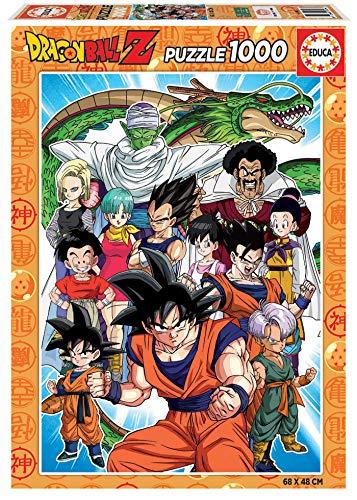 Educa Personajes Dragon Ball Z Puzzle, 1000 Piezas, multicolor (18496)