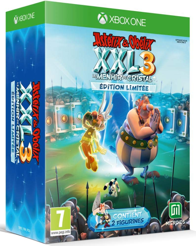 Astérix & Obélix XXL 3 : le Menhir de Cristal Edition Limitée pour ...