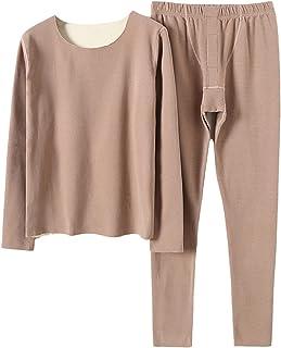 BaoDan Tight Vest Sleeveless Sleepwear Thermal Underwear Base Layer Lined Ladies Winter U Neck Sleep Camisole Soft Hot Pyj...