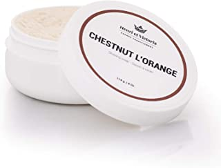 Chestnut L'Orange Shaving Soap Fragrance | Canadian Made by Skilled Artisans | Ultra Glide, Cushioning, Easy Lather, Prevent Razor Burn | 114 g (4 oz)