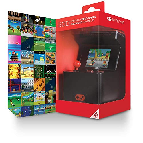 5600631ea3fc My Arcade - Retro Arcade Machine X Portable Gaming Mini Arcade Cabinet with  300 Built-