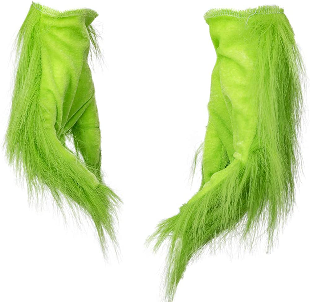 Cheap mail order specialty store SevenJuly1 Green Gloves with Furry Halloween P Costume Luxury goods Accessory