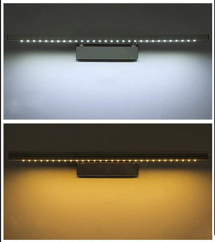 Light Führte Spiegel-Kabinett-spezielle Lampen, geführtes Spiegel-Licht, 180 ° drehbare Lampstainless Wasserdichte Anti-Nebel Badezimmer-Spiegel-Lampe, Wasserdichte Wand-Licht