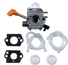 KIPA Carburetor for Homelite 308054041 UT-09520 UT-09521 UT-09523 UT-09525 26cc Blowers with Fuel Lines Primer Bulbs Mounting Gaskets