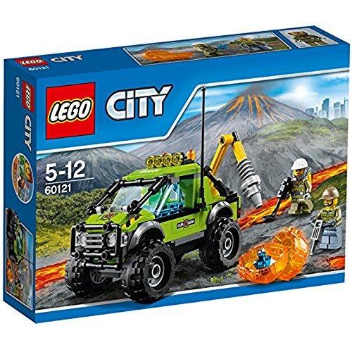 LEGO City 60121 - Vulkan-Forschungstruck, Bausteinspielzeug