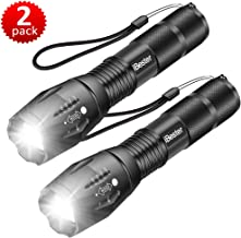 Tactical Flashlight, iBester XML-T6 LED Flashlight, High Lumen, Portable, Zoomable, 5..